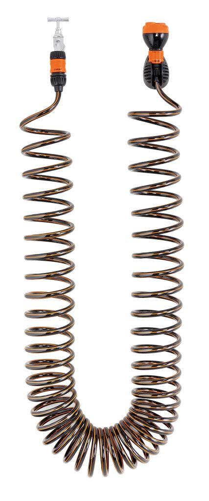 Claber Tubo Spiral Kit Plus MT.15 9338 Nero Arancione