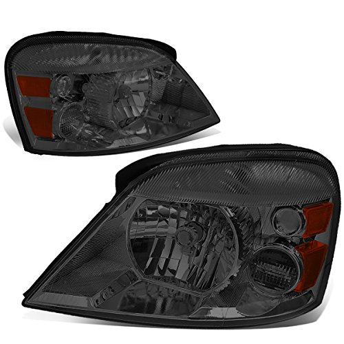 DNA Motoring HL-OH-022-SM-AM Pair of Headlight Assembly [04-07 Ford Freestar/Mercury Monterey]