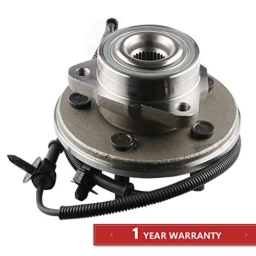 MOSTPLUS Wheel Bearing Hub Front Wheel Hub and Bearing Assembly 515050 for Aviator Mountaineer Explorer 4 Door with ABS 5 -