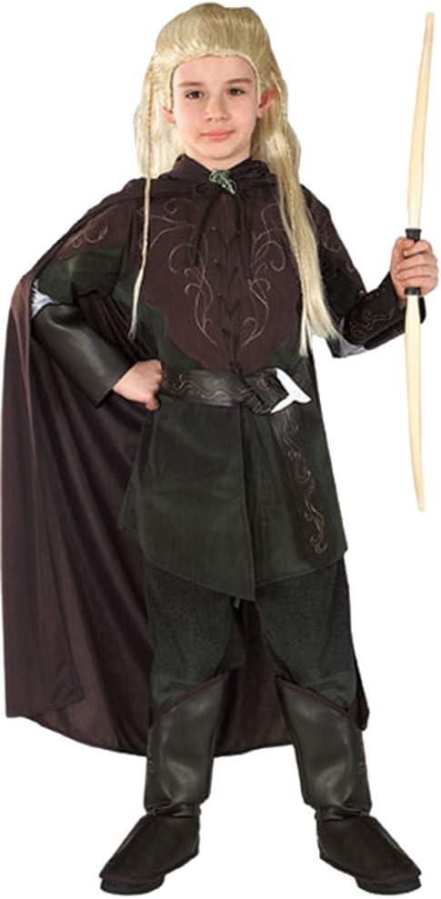 Disfraz de Lord of the Rings Legolas para niños - negro - Medium ...