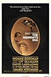 "The Serpent's Egg 1978 Authentic 27"" x 41"" Original Movie Poster Fine, Very Fine David Carradine Thriller U.S. One Sheet"