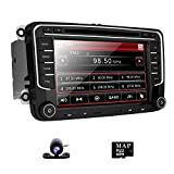 Car Radio DVD GPS Navigation for VW Jetta Passat Golf Beetle Caddy Tiguan Scirocco Octavia Altea Touran Amarok HD 7 inch Touch Screen Handsfree Bluetooth Car Stereo