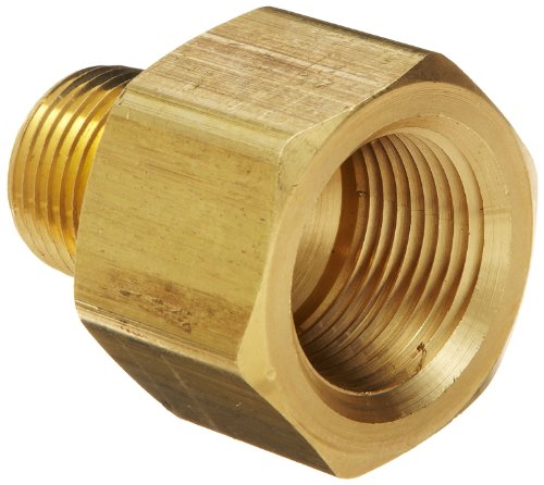 Dixon RA6F4M Brass Pipe and Welding Fitting, Threaded Reducer Adapter, 3/4