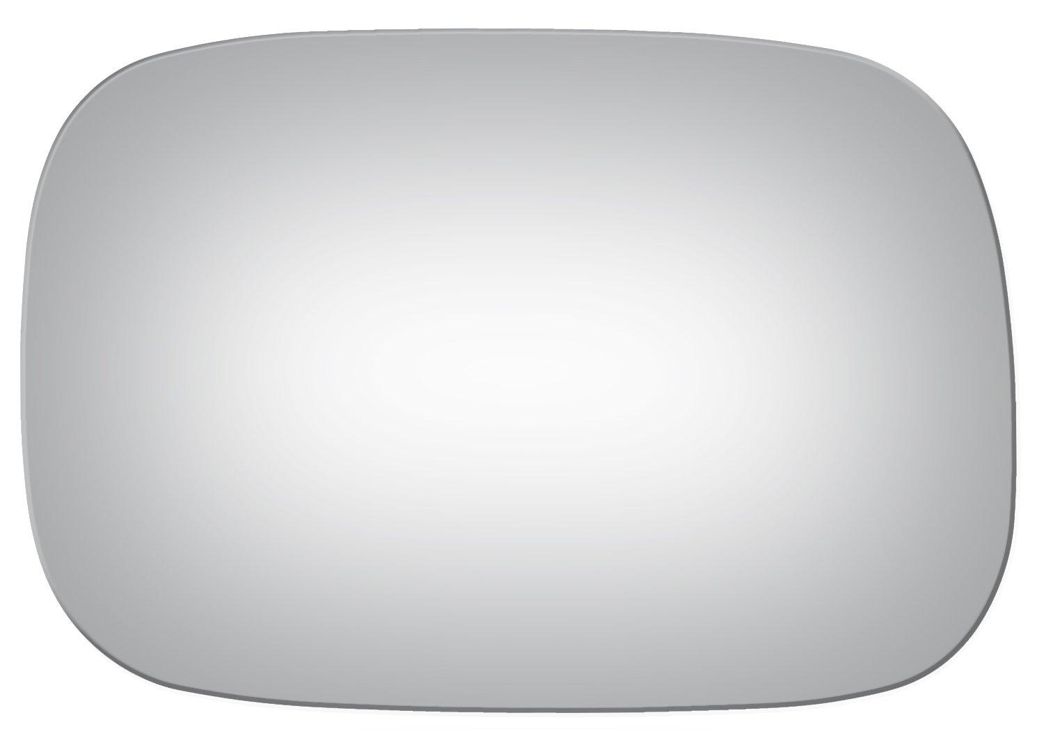 2005, 2006, 2007, 2008, 2009, 2010 Burco 4086 Flat Driver Side Power Replacement Mirror Glass for 05-10 Toyota Avalon