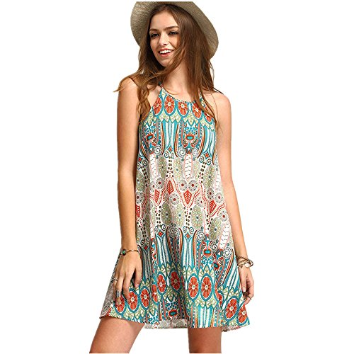 Clearance Women Dresses Folk-Custom Cocktail Party Evening Mini Dress Beach Sundress for Summer