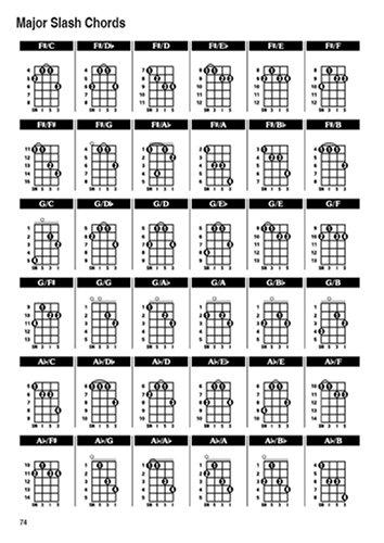 The Irish Bouzouki GDAE Chord Bible: Mandolin Style Tuning 1, 728 ...
