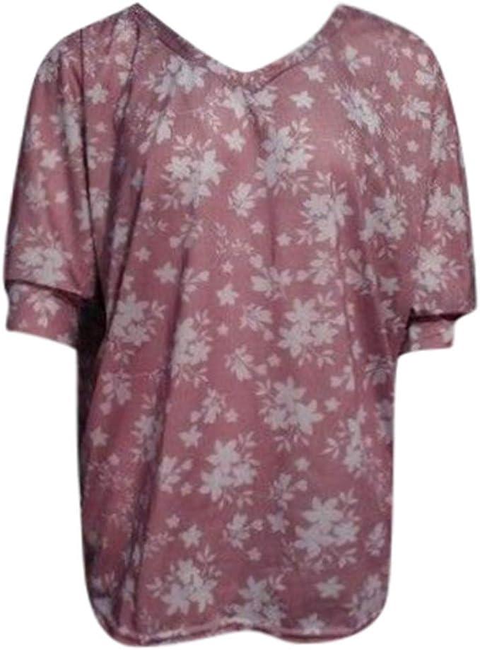 Linkay - Camiseta de Manga Corta para Mujer Du Vin 4X-Large ...