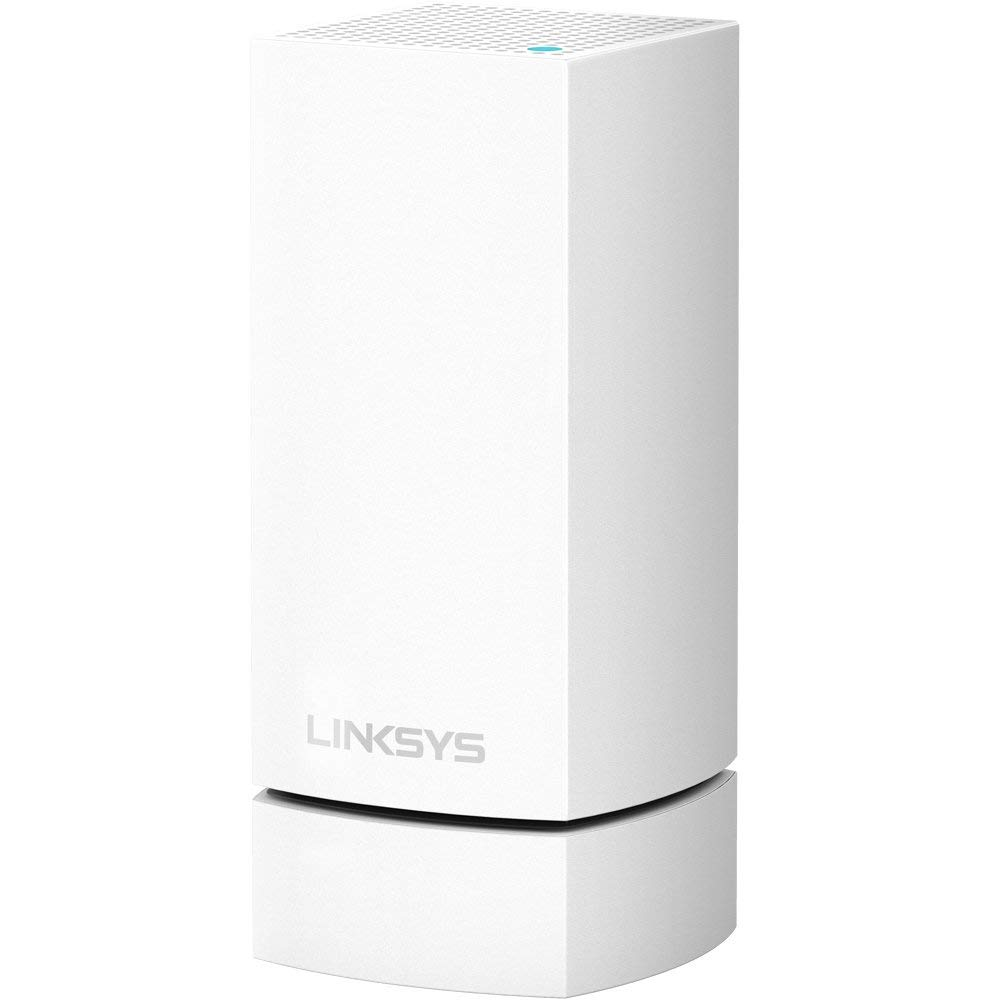 Linksys Velop Whole Home Wi-Fi Mesh System Wall Mount, Node Holder, Space Saving Bracket, 1-Pack, Works with All Velop Models, White by Linksys