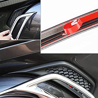 Car Wheel Eyebrow Side Air Conditioning Vent Outlet Decoration Cover for Jeep Wrangler JL JLU 2020-2020 (Chrome): Automotive
