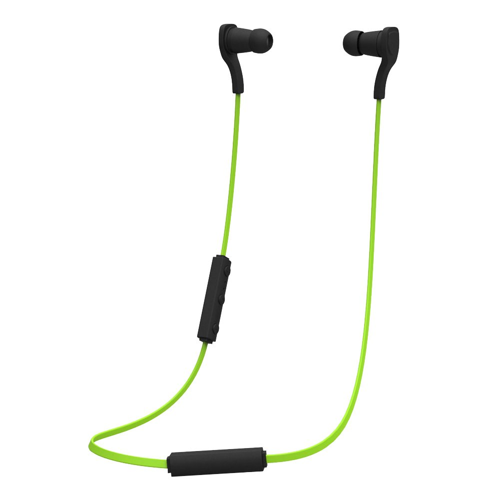 Alloet BT-H06 Wireless Bluetooth Headset In-ear Headphone Port Waterproof Earphone (Green)