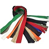 YAKA 10PCS Mix Nylon Coil Zippers sports suits Zippers coat Zippers zippers jacket clothes Zippers Tailor Sewing Tools Garment Accessories zippers 28 inch