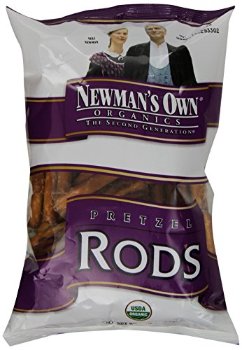 (Newman's Own Organic, Pretzels, Salted Rods, 8 oz)