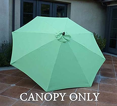 Replacement Umbrella Canopy for 9ft 8 Ribs Lime (CANOPY ONLY) & Amazon.com : Replacement Umbrella Canopy for 9ft 8 Ribs Lime ...