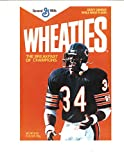 Walter Payton #34 Wheaties Chicago Bears Box Image 8X10 Unsigned Photo