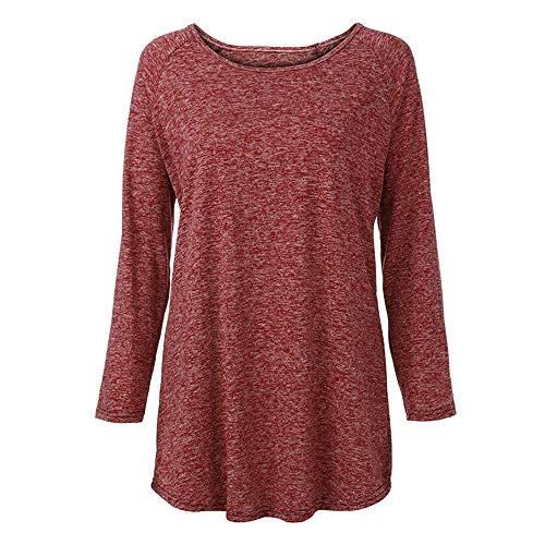 Longues Femme Winkey Red Manches Chemisier Tendance FtYxqRzw