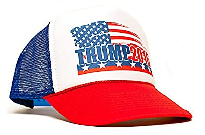 Trump 2016 President Campaign Trucker Unisex Adult-one size Hat Cap Multi