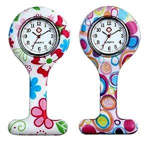 Reloj de Pulsera para Enfermera Lancardo, Reloj de Bolsillo, analógico, de Cuarzo,