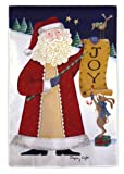 Cheap Evergreen Joy Santa House Flag 29″ X 43″