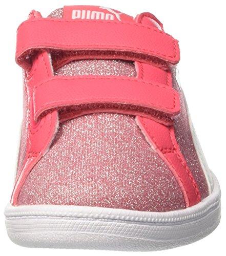 Sneakers Mixte Rose Smash PS V White Rose Enfant Paradise puma Glamm Glitz Basses Puma d60CXqPq
