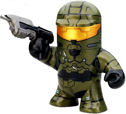 Halo 3 McFarlane Toys Odd Pod Stylized Figure Master Chief (Assault Rifle) ()