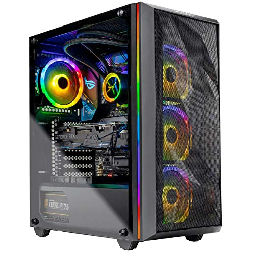 Skytech Chronos Gaming Computer PC Desktop – Ryzen 9 3900X 3.8GHz, Strix RTX 2080 Ti 11G, 1TB NVME, 2TB HDD, 32GB DDR4 3600MHz, RGB Fans, Windows 10 Home 64-bit, 802.11AC Wi-Fi
