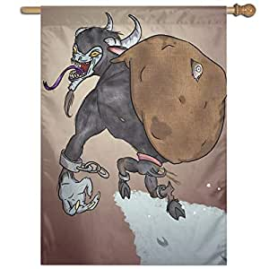 Amazon.com : MINIOZE Krampus Bag Themed Welcome Extra Big ...