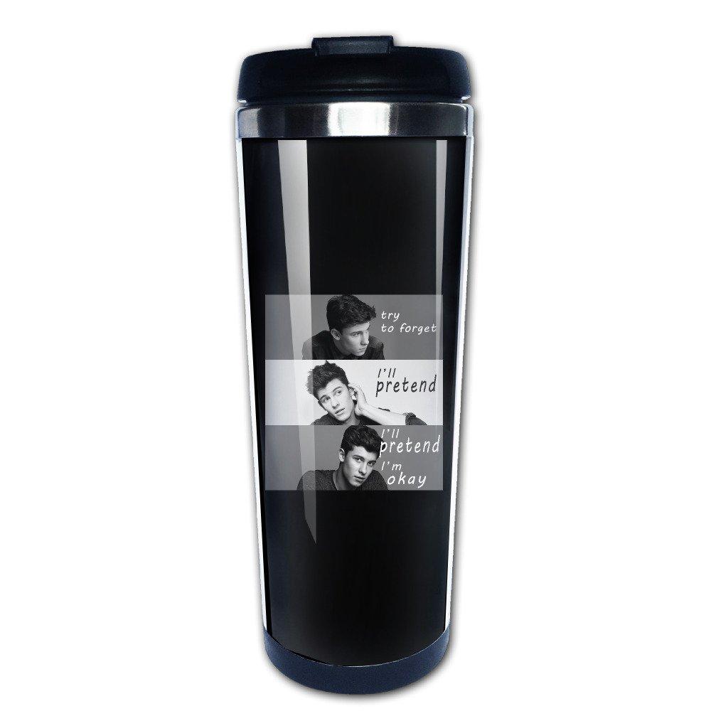 Shawn Mendes Handwritten Stainless Steel Vacuum Coffee Cup Mug MANation