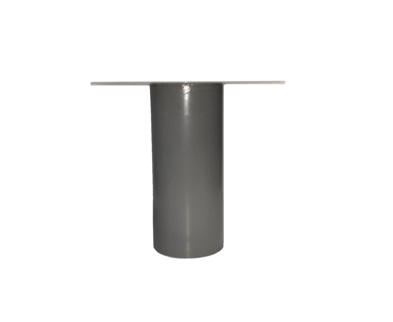 Bitumen-//PVC-Flansch DN 110 Dachentw/ässerung Einlauf Dachgully Bitumen PYE, 250 mm Flachdachablauf DN 100 inkl Laubfang
