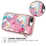 ZVE Wallet Case for Apple iPhone 8 Plus and