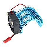 Brushless Motor Heatsink with Cooling Fan RS540 550 540 Size 5V-6V Electric Engine Heat Sink For RC Car Buggy Monster Truck