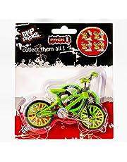 Grip and Tricks - Mini Finger Freestyle BMX samt 2 extra Mini Finger BMX Cykel Hjul and 1 Mini Finger Cykel Verktyg- 1 Mini Finger Leksak Set för barn från 6 år och uppåt.