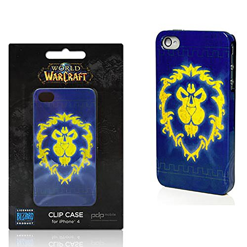PDP Blizzard World of Warcraft Alliance & Horde Case For Apple iPhone 4