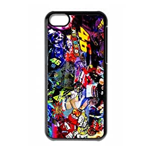 Valentino Rossi iPhone 5c Cell Phone Case Black xlb-318035