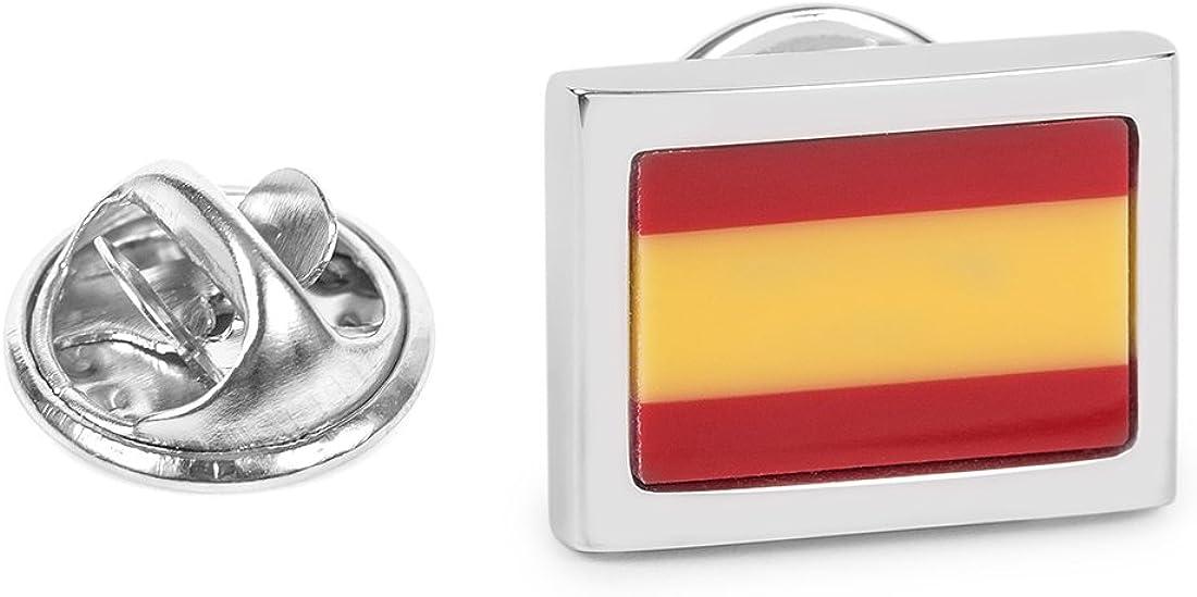 SoloGemelos - Pin De Solapa De La Bandera De España - Rojo ...