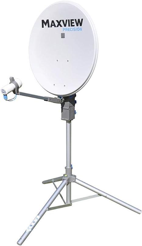 Maxview - Sistema de Antena parabólica con Doble LNB (55 cm ...