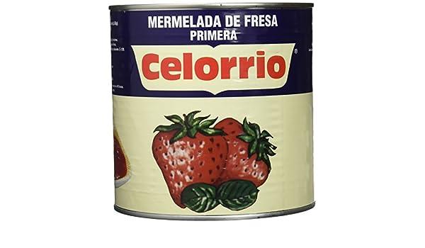 Celorrio 40-40003C Mermelada Fresa Lata - 3 kg: Amazon.es ...