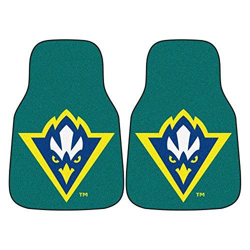 (FANMATS NCAA UNC University of North Carolina - Wilmington Seahawks Nylon Face Carpet Car Mat)