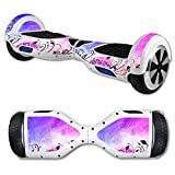 MightySkins Protective Vinyl Skin Decal for Hover Board Self Balancing Scooter mini 2 wheel x1 razor wrap cover sticker Rise and Shine