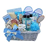Art of Appreciation Gift Baskets Seaside Get A Way Ocean Mist Spa Bath and Body Gift Set