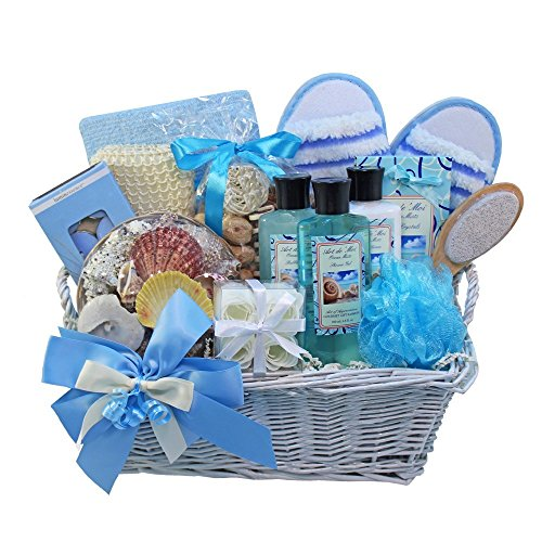 gift basket with candles - 1