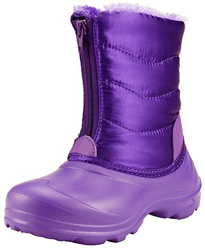 The Doll Maker Snow Boot-FBA174002F-3 (Boots Purple Snow)