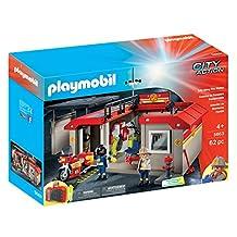Playmobil Take Along Fire Station Playset