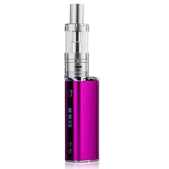 SZYSD Cigarrillo Electrónico, 30W Función de Relleno a Tope Atomizer 0.5ohm,Atomizadore Vapeador Kit de cigarrillo electrónico,de Control de Salida de Aire, ...