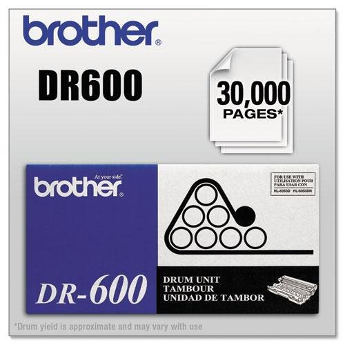 Brother DR600 Drum Unit, Black
