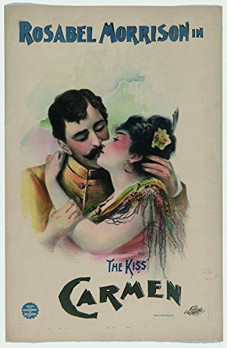 Carmen, 1896 - Premium Movie Poster Reprint Unframed