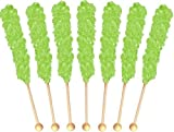 Rock Candy Crystal Sticks Green Watermelon 12ct.