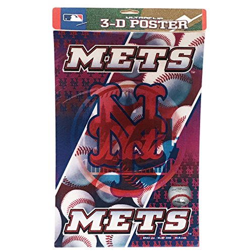 MLB New York Mets 3D Mini Poster ()