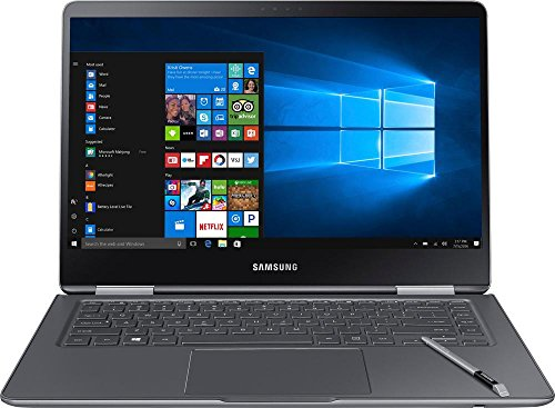 "Price comparison product image Samsung Notebook 9 Pro NP940X5M-X01US 15"" Touch Screen Laptop,  7th Gen Intel Core i7-7500U Up To 3.5GHz,  16GB DDR4,  256GB SSD,  Backlit Keyboard,  Windows 10,  Titan Silver"