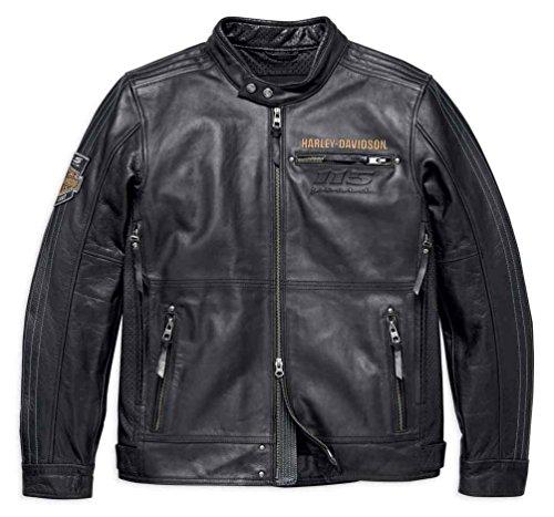 Harley Davidson Leather Motorcycle Jackets For Men - 8
