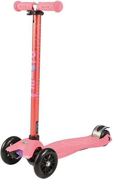 Amazon.com: Micro Maxi Kick – Patinete, color coral pink con ...